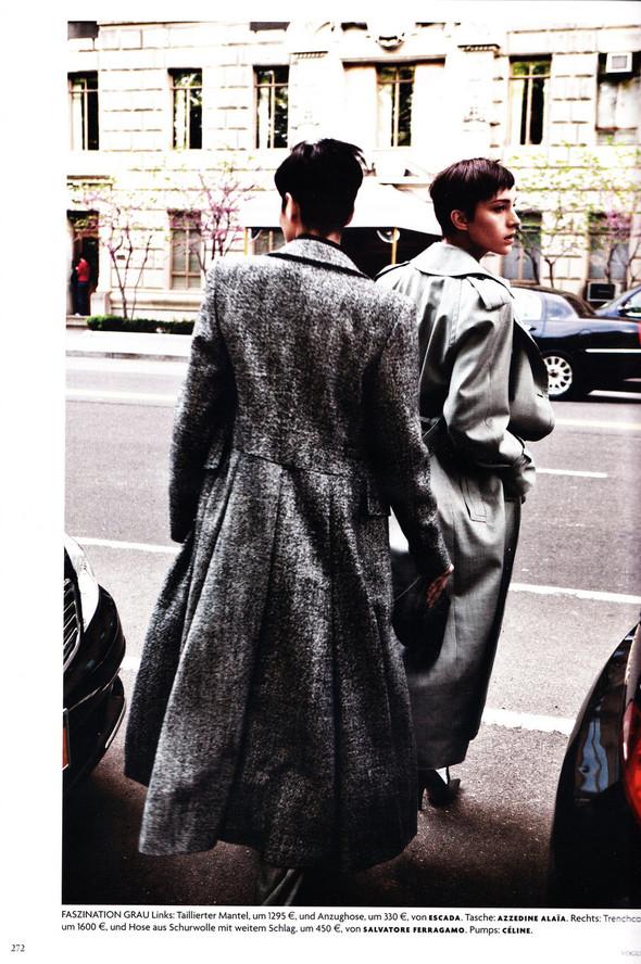 Съёмка: Хана Бен Абдесслем и Валерия Келава для Vogue. Изображение № 11.
