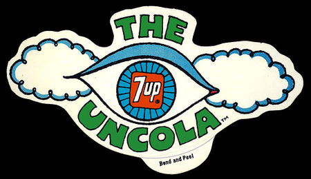 Графика 70-х thegreat hippie 7Up. Изображение № 8.