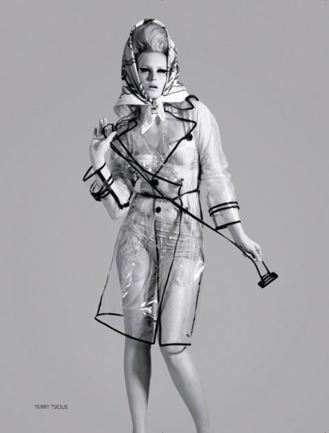Русский Vogue: отныне в моде девушки с формами. Изображение № 5.