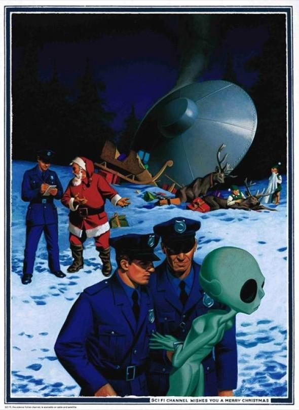 69 рождественских рекламных плакатов. Изображение № 60.