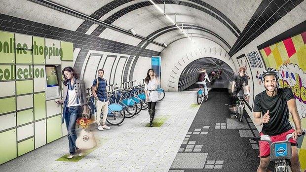Дизайнеры предложили строить пешеходные дороги подЛондоном. Изображение № 2.