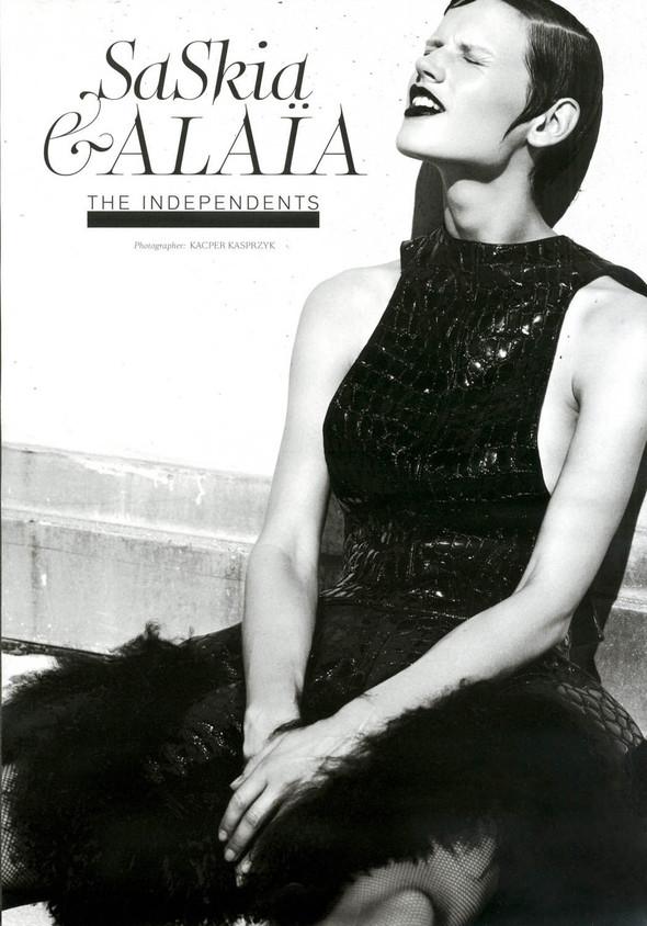 Съёмка: Саския де Брау для Style.com/Print. Изображение № 1.