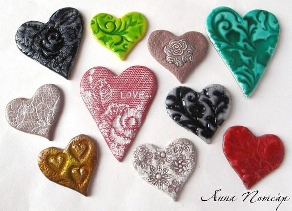 Изображение 3. Валентинки-магнитики из пластики.. Изображение № 3.