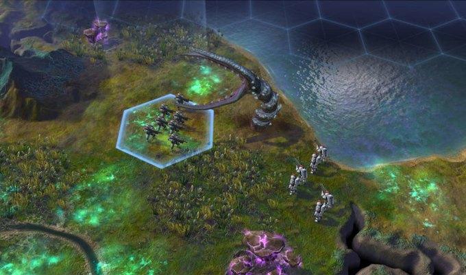 Вышел трейлер научно-фантастической стратегии Sid Meier's Civilization. Изображение № 2.