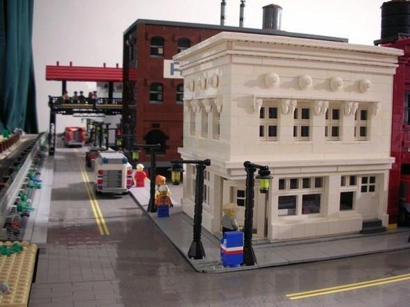 Изображение 5. Улицы Нью-Йорка из конструктора LEGO.. Изображение № 5.