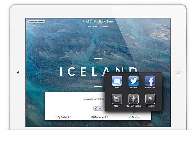 Издательская платформа Stampsy для iPad. Изображение № 3.