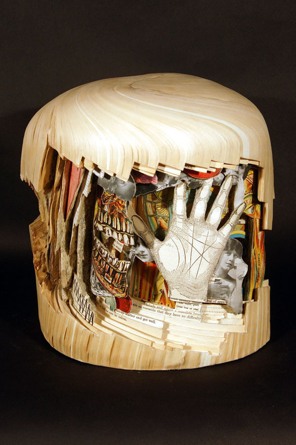 Book carving отБрайана Деттмера [Brian Dettmer]. Изображение № 14.