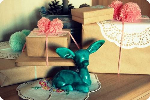55 идей для упаковки новогодних подарков. Изображение №24.