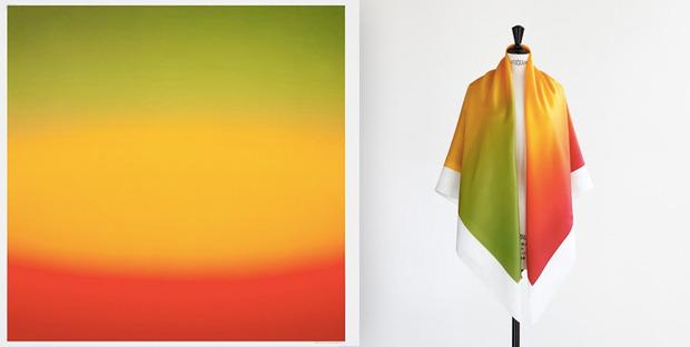 Hermes выпустили платки с полароидными фото. Изображение № 9.