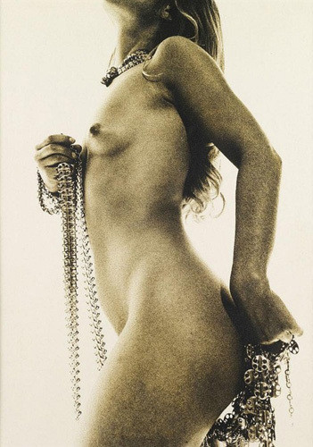 Части тела: Обнаженные женщины на фотографиях 50-60х годов. Изображение № 207.