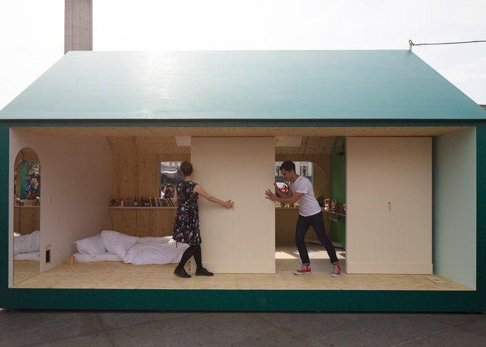 Дизайнеры создали инсталляцию для Airbnb на Трафальгарской площади. Изображение № 5.