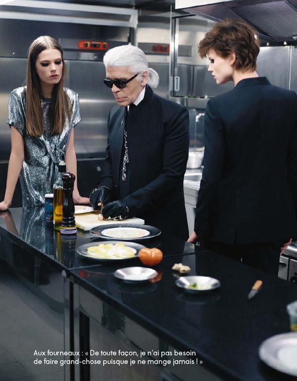 Съёмки: Elle, i-D и Vogue. Изображение № 5.