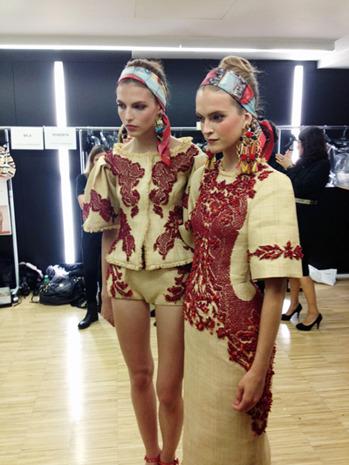 Бэкстейдж Dolce&Gabbana. Изображение № 16.