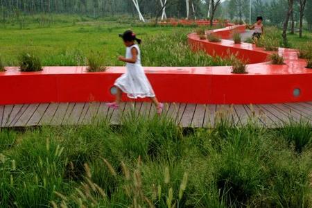 RedRibbon великая китайская скамья. Изображение № 4.