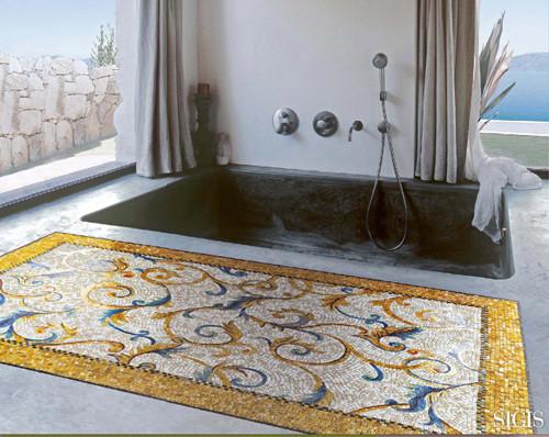 Мозаичные ковры от Sicis. Изображение № 2.