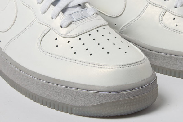 AIR FORCE 1 PREMIUM (GREY ICE). Изображение № 4.