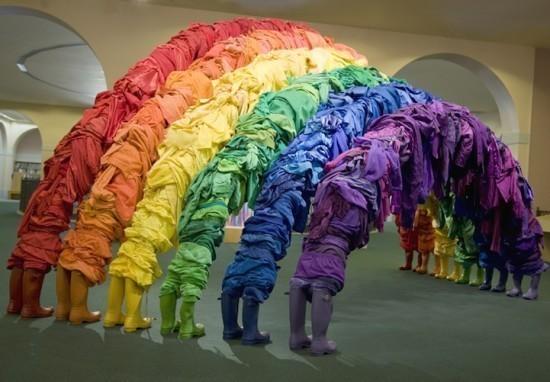 Изображение 2. Recycling Clothing Art.. Изображение № 2.