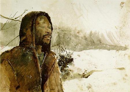 Andrew Wyeth- живопись длясозерцания иразмышления. Изображение № 18.