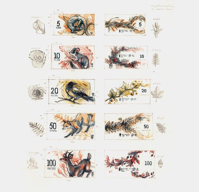 Концепт дня: банкноты несуществующих венгерских евро. Изображение № 19.