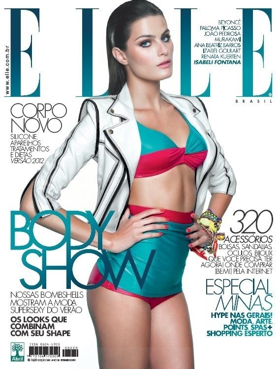 Обложки: Allure и Elle. Изображение № 4.