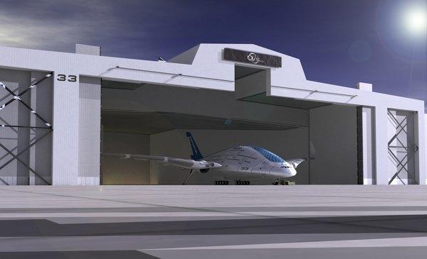 Дизайнер показал проект самолёта будущего. Изображение № 3.