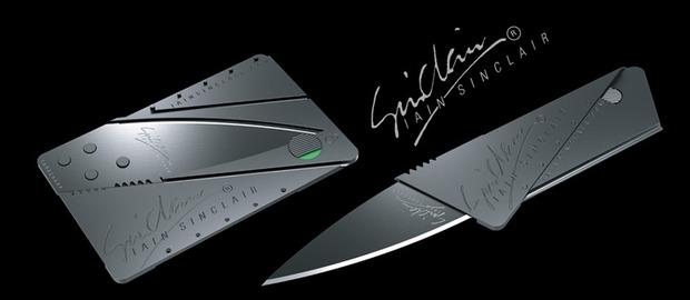 Нож-кредитка CardShapr от Iain Sinclair Design . Изображение № 1.