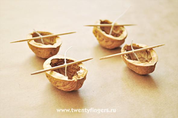 Ореховые свечи. Изображение № 5.