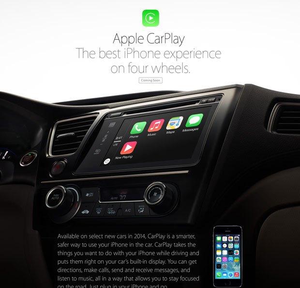 Apple анонсировала CarPlay . Изображение № 1.