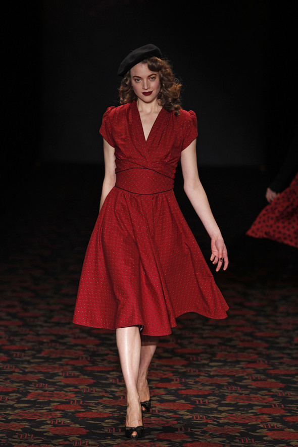 Berlin Fashion Week A/W 2012: Lena Hoschek. Изображение № 68.