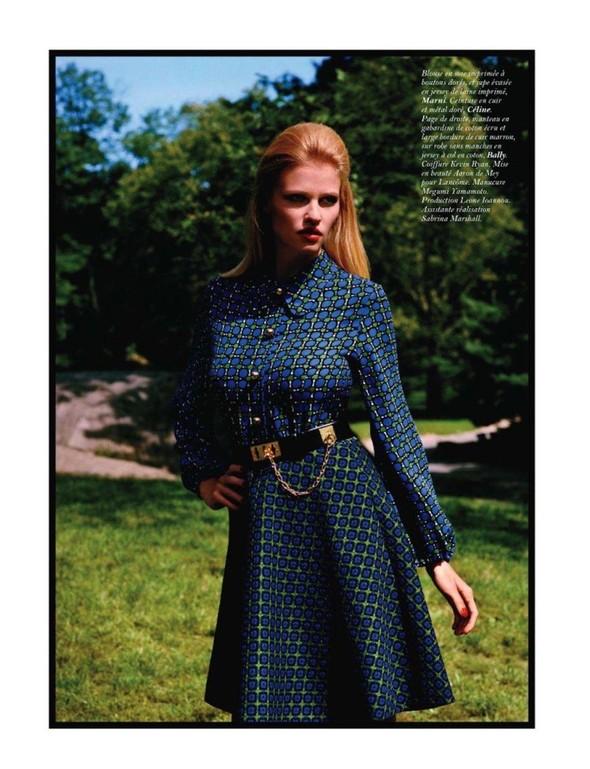Съёмка: Лара Стоун для Vogue. Изображение № 7.