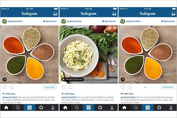 Стали известны форматы рекламы в Instagram для России. Изображение № 1.
