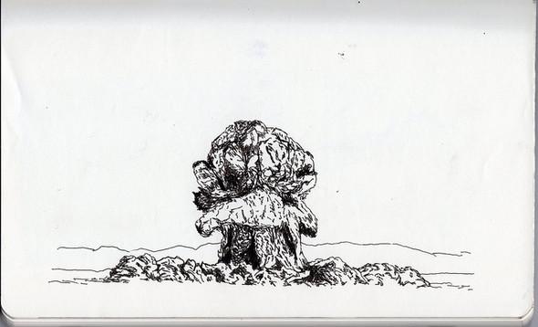 В тонких и резких штрихах: не повседневные иллюстрации. Изображение № 1.