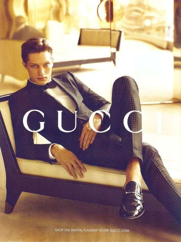 Превью мужских кампаний: Gucci, YSL и другие. Изображение № 6.