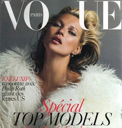 Кейт Мосс на обложках vogue. Изображение № 16.