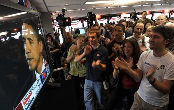 100 лет выборов в документальных фотографиях. Изображение № 76.