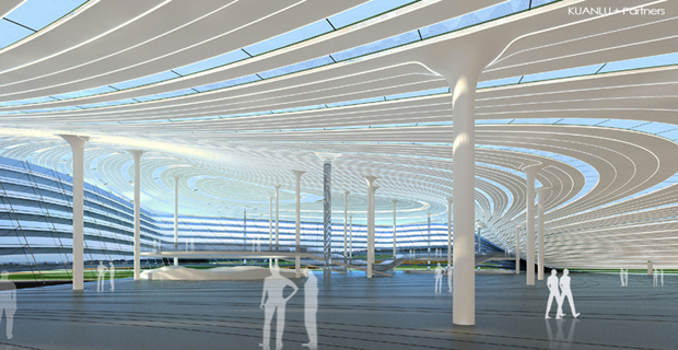 Архитектура дня: объединённые водно целое 4павильона. Изображение № 5.