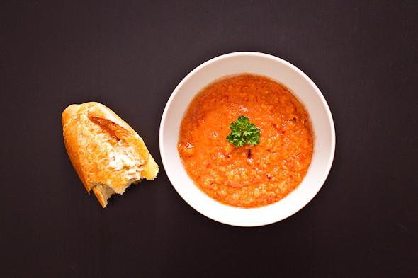 Овощное рагу, гаспачо, греческий салат: Настоящий осенний обед. Изображение № 29.