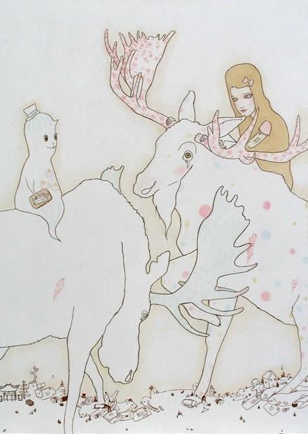 Детский иллюстратор Lilly Piri, любительница конвертов. Изображение № 12.
