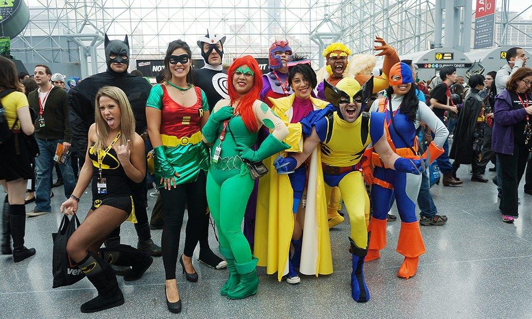 Как прошёл гик-фестиваль NYC Comic-Con  в Нью-Йорке. Изображение № 19.