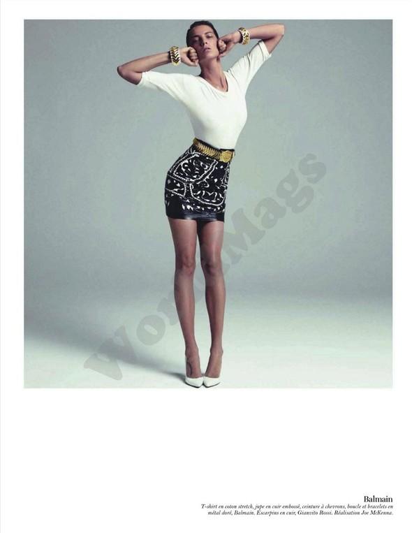 Съёмка: Дарья Вербова для французского Vogue. Изображение № 4.