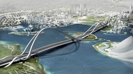 Крупнейший вмире мост будет построен вДубаи в2012г. Изображение № 3.