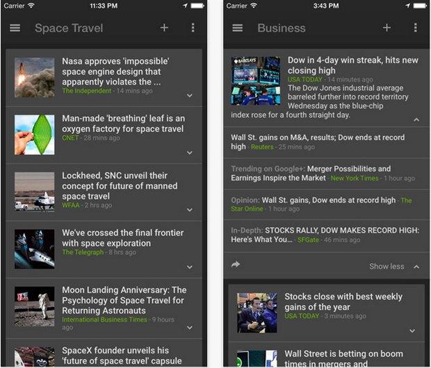 Google выпустил новостное приложение для iOS. Изображение № 2.