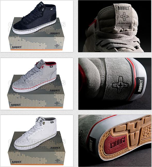 Первая коллекция обуви Addict. Изображение № 5.