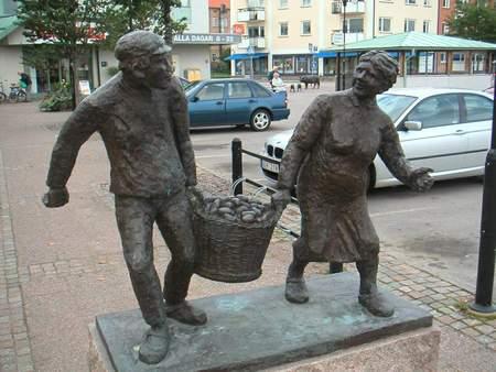Шведы вкамне ибронзе. Изображение № 17.