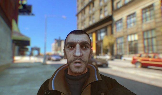 Мод позволяет делать селфи в GTA IV . Изображение № 2.