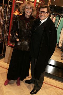 Двемузы известного дизайнера ИваСен Лорана. Изображение № 15.