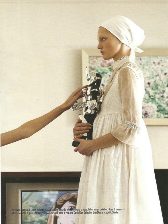 Архивная съёмка: Монахини и роботы в объективе Стивена Мейзела, 2006. Изображение № 8.