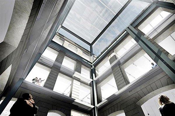 Бюро Рема Колхаса показало проект «гибкой» галереи в здании XIX века  . Изображение № 6.