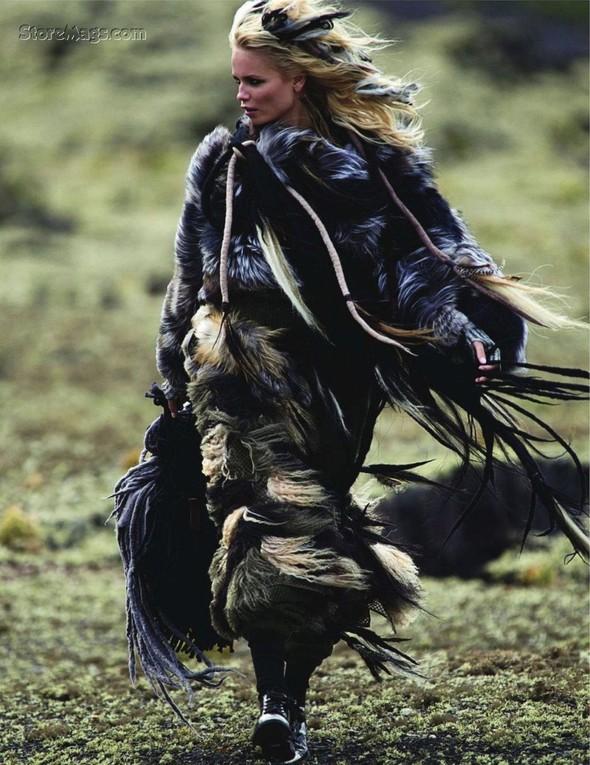 Съёмка: Наташа Поли для французского Vogue. Изображение № 11.