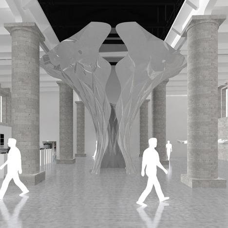 Инсталляция Захи Хадид для архитектурной биеннале. Изображение №2.